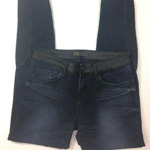 Zara Moto Skinny Jeans
